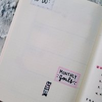 Free Bullet Journal Printables (Monochrome Planner Theme)